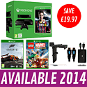 Xbox One Console with FIFA 14 Download, Forza 5, LEGO Marvel Super Heroes and Xbox One Starter Pack Xbox One