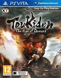 Toukiden PS Vita Cover Art