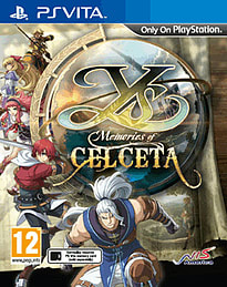Ys: Memories of Celceta PS Vita Cover Art