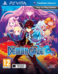 Demon Gaze PS Vita Cover Art