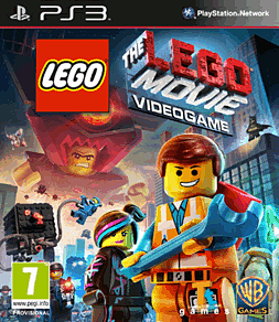 The LEGO Movie Videogame PlayStation 3 Cover Art