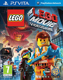 The LEGO Movie Videogame PS Vita Cover Art