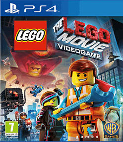 The LEGO Movie Videogame PlayStation 4 Cover Art