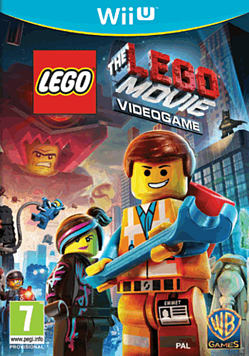The LEGO Movie Videogame Wii U Cover Art