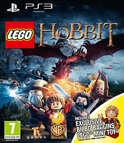 LEGO The Hobbit Videogame with Bilbo Baggins minifigure - Only at GAME PlayStation 3