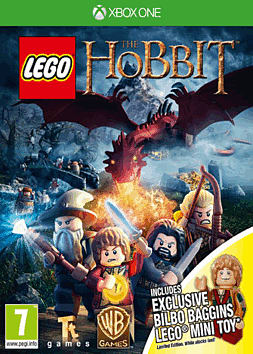 LEGO The Hobbit Videogame with Bilbo Baggins minifigure - Only at GAME Xbox One
