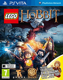 LEGO The Hobbit Videogame with Bilbo Baggins minifigure - Only at GAME PS Vita