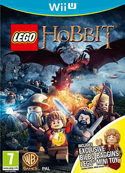 LEGO The Hobbit Videogame with Bilbo Baggins minifigure - Only at GAME Wii U