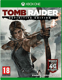 Tomb Raider: Definitive Edition with Limited Edition Artbook Xbox One Cover Art