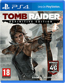 Tomb Raider: Definitive Edition with Limited Edition Artbook PlayStation 4 Cover Art