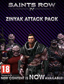 Saints Row IV - Zinyak Attack Pack PC Games