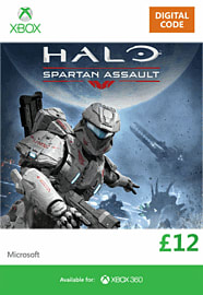 Halo: Spartan Assault Xbox Live Cover Art