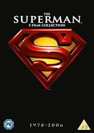 The Superman 5 Film Collection DVD