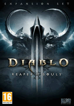 Diablo III: Reaper of Souls PC Games Cover Art