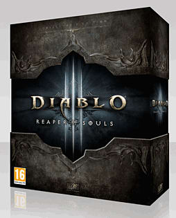 Diablo III: Reaper of Souls Collector's Edition PC-Games Cover Art