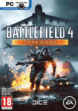 Battlefield 4: China Rising PC Games Cover Art
