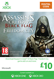 Assassin's Creed IV: Black Flag - Freedom Cry Xbox Live Cover Art
