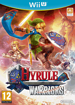 Hyrule Warriors Wii U Cover Art