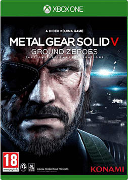 Metal Gear Solid V: Ground Zeroes Xbox One Cover Art