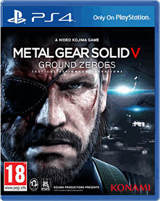 Metal Gear Solid V: Ground Zeroes PlayStation 4 Cover Art