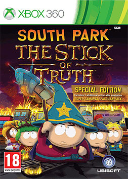 South Park: The Stick of Truth Xbox 360 Cover Art
