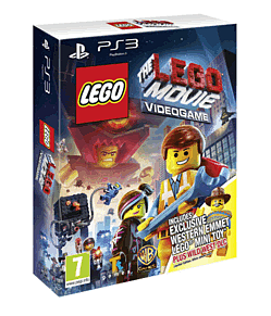 The LEGO Movie Videogame: Wild West Pack with Emmett Minifig PlayStation-3 Cover Art