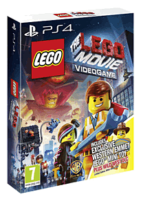 The LEGO Movie Videogame: Wild West Pack with Emmett Minifig PlayStation 4 Cover Art