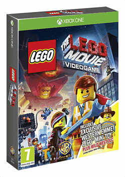 The LEGO Movie Videogame: Wild West Pack with Emmett Minifig Xbox One Cover Art