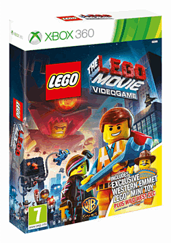 The LEGO Movie Videogame: Wild West Pack with Emmett Minifig Xbox-360 Cover Art