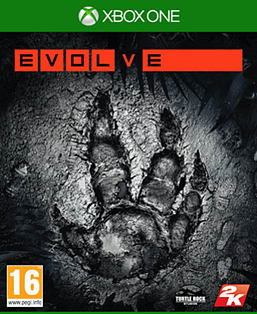 Evolve Xbox One Cover Art