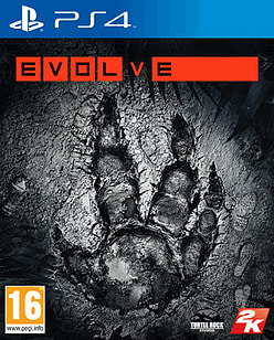 Evolve PlayStation 4 Cover Art