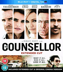 The Counsellor Blu-Ray