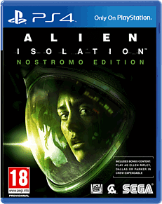 Alien: Isolation Nostromo Edition PlayStation 4 Cover Art