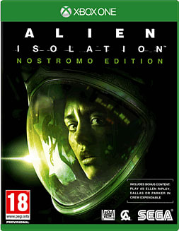 Alien: Isolation Nostromo Edition Xbox One Cover Art
