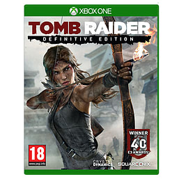 Tomb Raider Definitive Edition Xbox One Cover Art