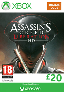 Assassin's Creed Liberation HD Xbox Live Cover Art