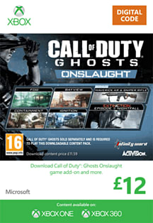 Call of Duty: Ghosts - Onslaught Xbox Live Cover Art