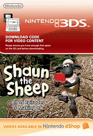 Shaun the Sheep Episode 1-15 Nintendo-3DS