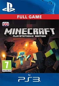 Minecraft: PlayStation 3 Edition PlayStation Network Cover Art