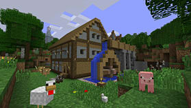 Minecraft: PlayStation 3 Edition screen shot 3