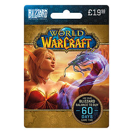 World of Warcraft Gametime Card Gifts Cover Art
