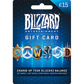 Battlenet £15 Gift Card Gifts