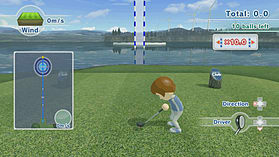 Wii Sports Club - Golf screen shot 1