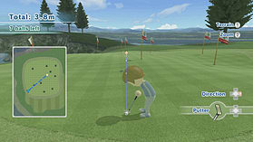 Wii Sports Club - Golf screen shot 2