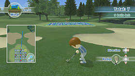 Wii Sports Club - Golf screen shot 3