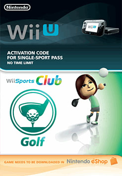 Wii Sports Club - Golf Wii U Cover Art