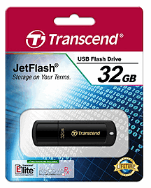 32GB Transcend Jetflash 350 USB Flash Drive for Xbox 360 Accessories