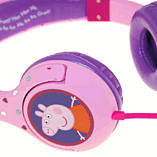 Peppa Pig Headphones - Peppa Hearts Purple screen shot 3