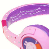 Peppa Pig Headphones - Peppa Hearts Purple screen shot 4