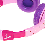 Peppa Pig Headphones - Peppa Hearts Purple screen shot 5